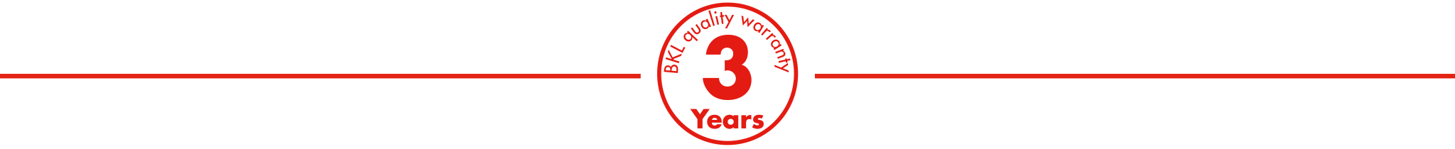 3-year BKL quality warranty for new cranes from the BKL System Cattaneo